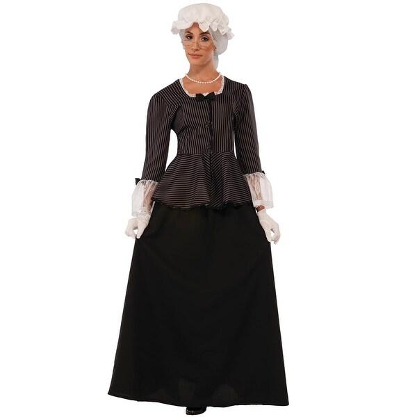 Shop Forum Novelties First Lady Washington Adult Costume Black