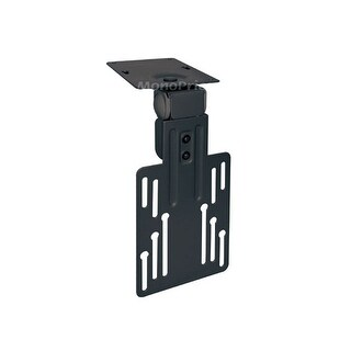 Monoprice Under Cabinet Tilt TV Wall Mount Bracket - For TVs 9 Inch to 17in, Max Weight 17.6 lbs, VESA Patterns Up to 100x100