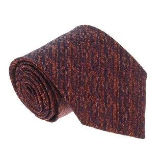 Missoni U4509 Grenadine Rust/Orange 100% Silk Tie - 60-3