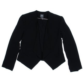 Vince Camuto Womens Long Sleeves Open Front Blazer