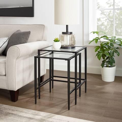 """Ashton 2Pc Nesting Table Set - 18.5 """"W x 24 """"D x 22.5 """"H"""