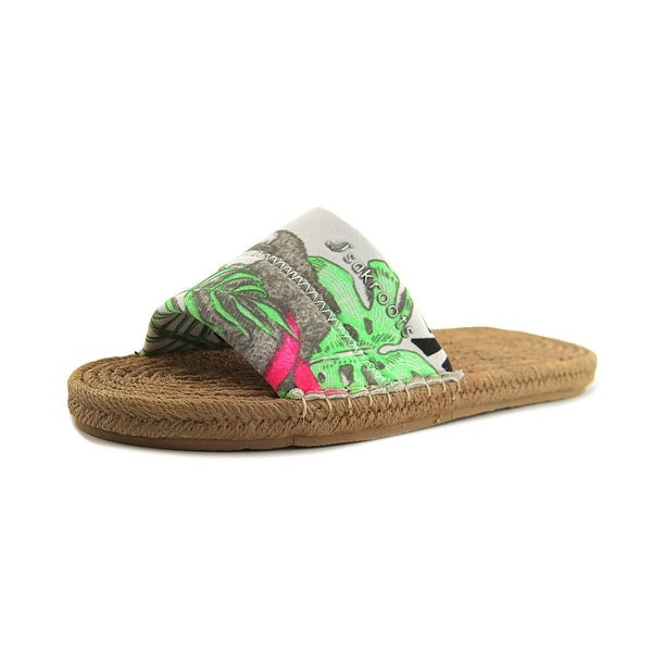 Sakroots Emi Neon Wildlife Sandals