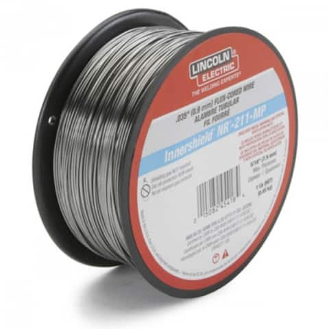 """Lincoln ED030584 Innershield NR-211-MP Flux-Cored Welding Wire, 0.035"""", 1 Lb"""