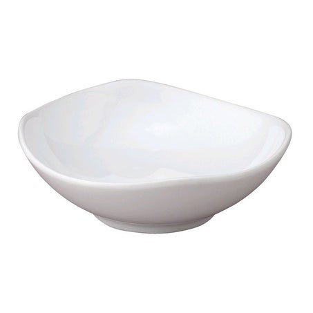 HIC T-213 Porcelain Soy Sauce Dish, White, 3-1/4""