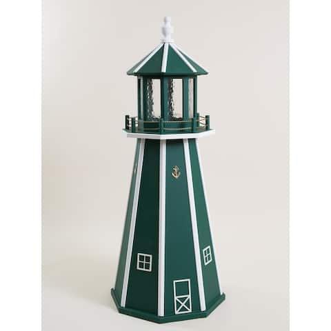 Poly Lighthouse with Solar Light