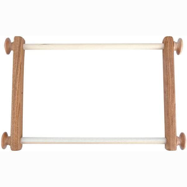 "Oak E-Z Stitch Frame 12""-"