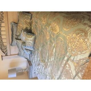 Gracewood Hollow Francis Jacquard Motif Fabric 9-piece Comforter Set