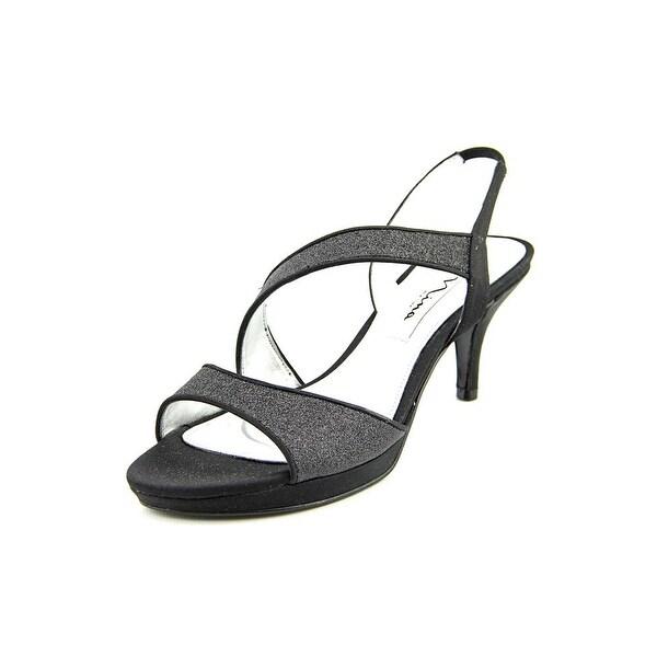 Nina Newark Women Black Baby Glt Sandals