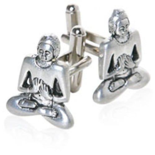 Buddhism Religion Buddha Cufflinks