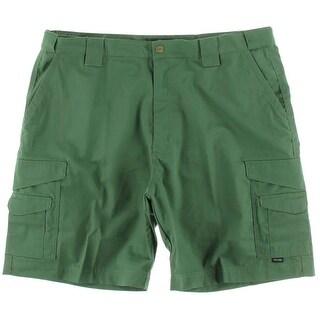 Tru-Spec Mens Twill Ripstop Cargo Shorts - 34
