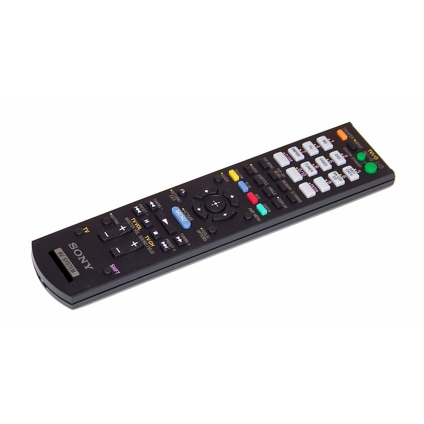 OEM Sony Remote Control Originally Supplied With: HTSS370, HT-SS370, HTSS370HP, HT-SS370HP, STRDH510, STR-DH510