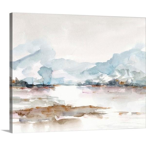 """Across the Marsh I"" Canvas Wall Art"