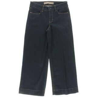 Guess Womens Amber Wide Leg Jeans Culotte Crop