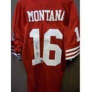 Signed Montana Joe San Francisco 49ers Custom San Francisco 49ers Jersey size 46 Joe Montana Authen