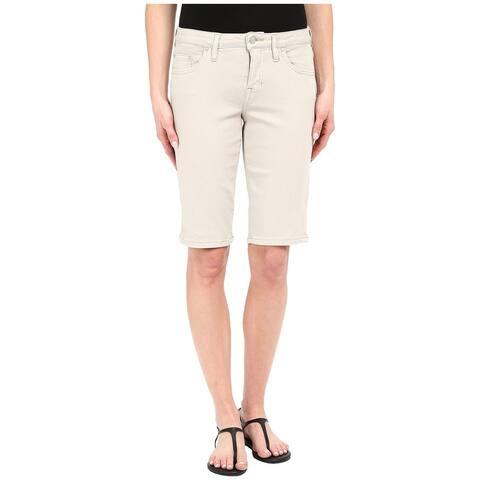Jag Jeans Stone Beige Womens Size 0 Willa Bermuda Twill Shorts