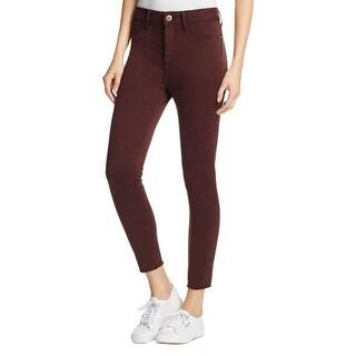 Bed Stu Womens Colored Skinny Jeans Stretch Ultra High Rise - 28