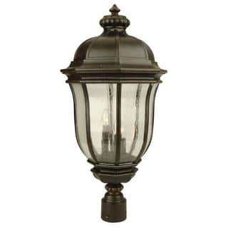 """Craftmade Z3325 Harper 26"""" 3 Light Post Light