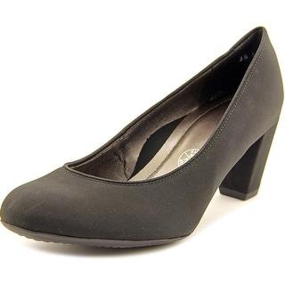 Ara Prema N/S Round Toe Canvas Heels