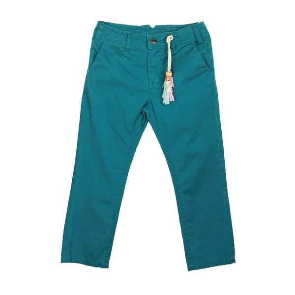 Richie House Little Boys Classic Blue Chinos 24M
