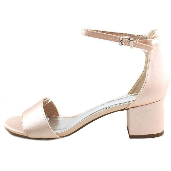 ced110bde9d8 Rampage Womens Glyterzz Satin Open Toe Special Occasion Ankle Strap Sandals