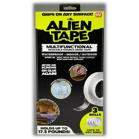 Alien Tape- Instantly Locks Anything into Place