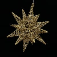 Gold Moravian Star