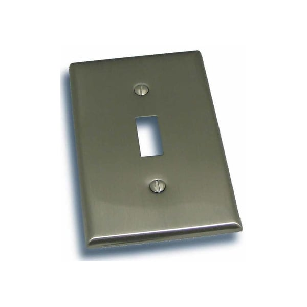 """Residential Essentials 10813 4.5"""" X 2.75"""" Single Toggle Switch Plate Featuring a Rustic / Country Theme - N/A"""