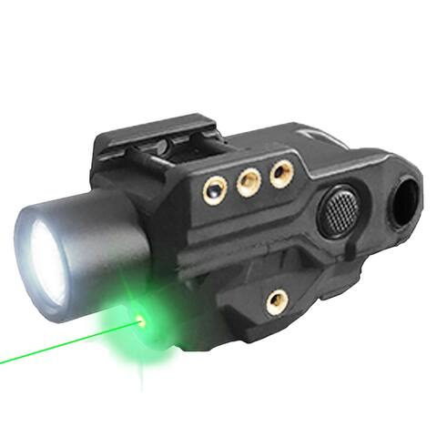 Hawk Gazer FLG-9T Rechargeable Green Laser Light Combo