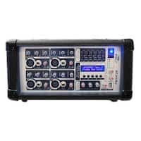 PylePro PMX402M 4 Channel 400 Watts Powered Mixer with MP3 USB Input