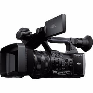 Sony FDR-AX1E Digital 4K Video Camera Recorder - Black|https://ak1.ostkcdn.com/images/products/is/images/direct/77904187f5d8bed2055b7801b5181555f432485e/Sony-FDR-AX1E-Digital-4K-Video-Camera-Recorder.jpg?impolicy=medium