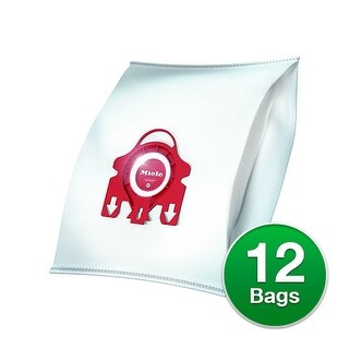 Genuine Vacuum Bag for Miele Type FJM (3-Pack) Miele Bag Type FJM