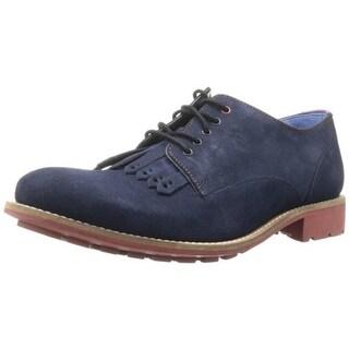 Ted Baker Mens Tich 2 Suede Fringe Derby Shoes