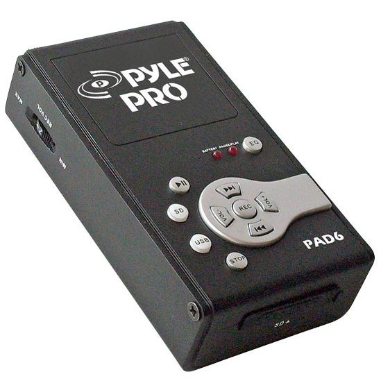 USB Audio Interface & Recorder & SD Card