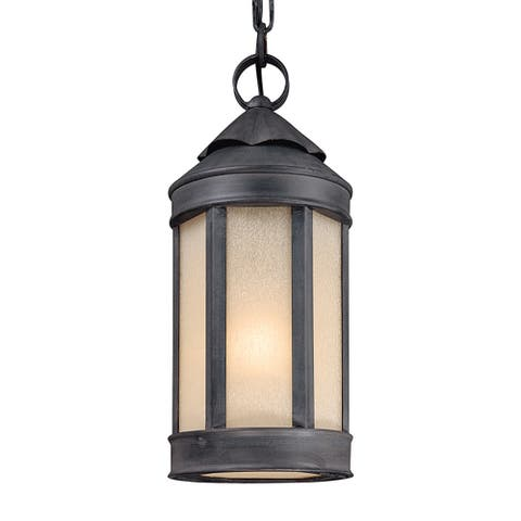 Troy Lighting Andersons Forge 1-light Hanging Lantern