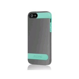 Incipio OVRMLD Case for Apple iPhone 5 - Navajo Turquoise / Charcoal Gray