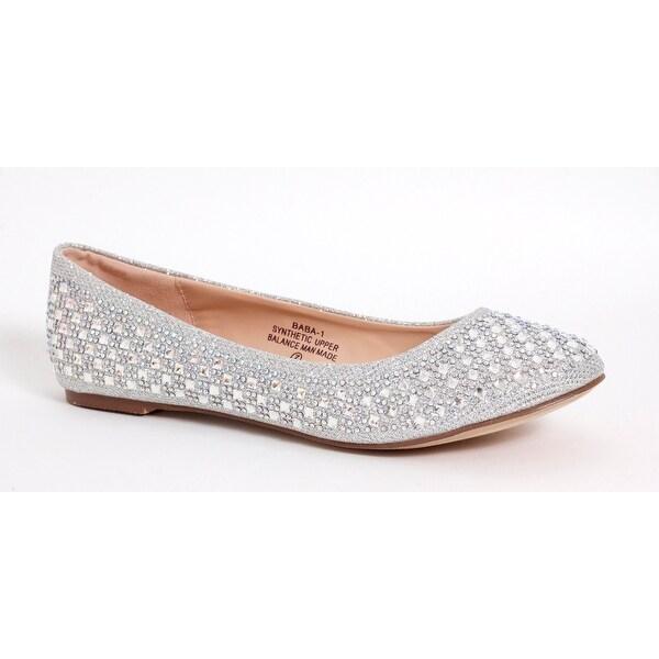 Shop Rhinestone Ballet Flat - 16701582 - 16701582 - f3759b