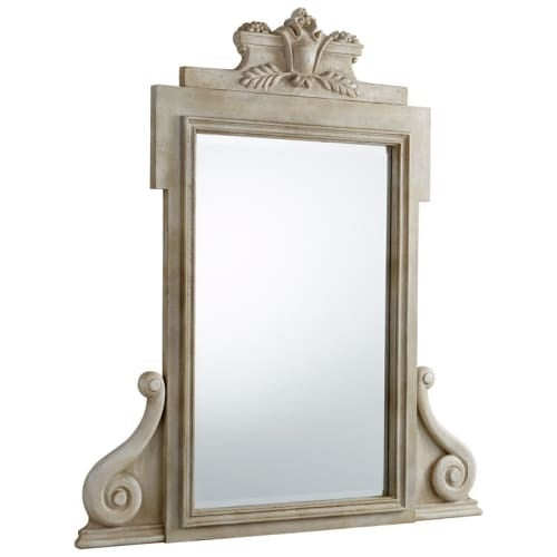 Cyan Design Victory is Mine Mirror 56.75 x 51 Victory Is Mine Rectangular Wood Frame Mirror