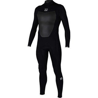 Billabong Mens 302 Absolute BZ Full Wetsuit, Black, Large