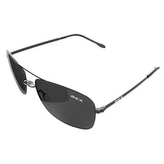 Bex Sunglasses Nylon Polarized Titanium Deklyn Black Grey D3X7Q - Black Grey - Medium