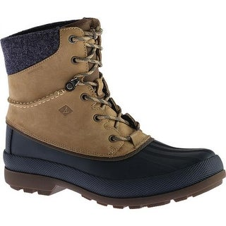 Sperry Top-Sider Men's Cold Bay Sport Duck Boot with Vibram Arctic Grip Taupe Leather