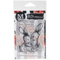 "Brutus Monroe Clear Stamps 3""X4""-Bunny Kisses"