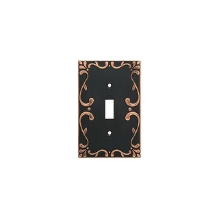 Franklin Brass W35070V-C Classic Lace Single Toggle Switch Wall Plate - Pack of 3 - N/A