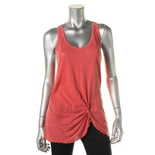 Stateside Womens Cotton Slub Tank Top