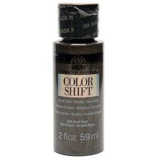 Folkart Color Shift 2Oz-Black Flash