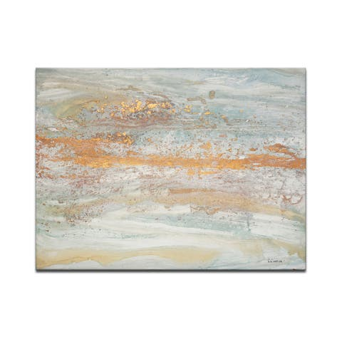'Flecks of Gold' Wrapped Canvas Wall Art by Norman Wyatt Jr.
