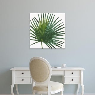Easy Art Prints Janelle Penner's 'Welcome to Paradise XVI on White' Premium Canvas Art