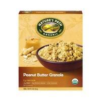 Nature's Path Organic Peanut Butter Granola - Case of 12 - 11.5 oz.