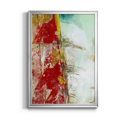 Mini Pattern Sketch II Premium Framed Canvas - Ready to Hang