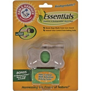 Arm & Hammer 71090 Biodegradable Waste Bags, 24 Count