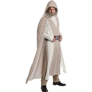 Mens Deluxe Luke Skywalker The Last Jedi Costume